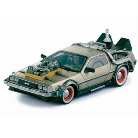 Sun Star De Lorean 1/18 Diecast Toy Model Car - Hobbytoys