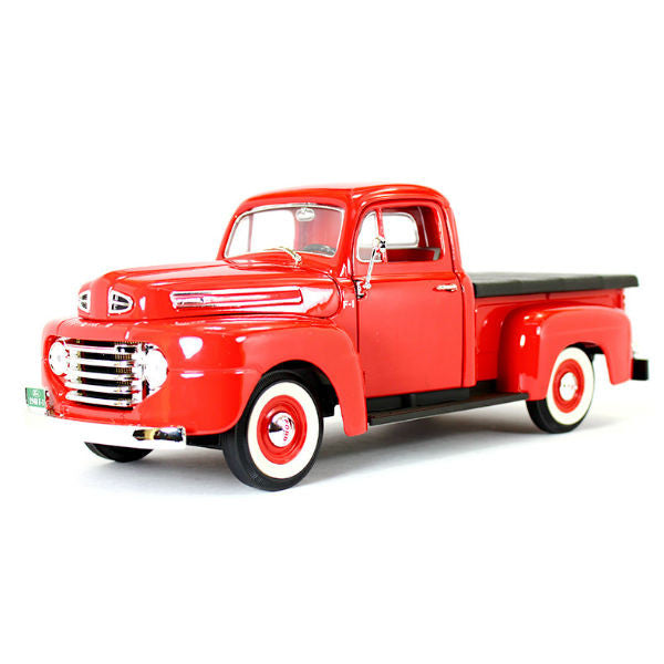 Road Signature 1948 Ford F-1 Pickup with Flatbed Cover 1/18 Diecast Model Car - Hobbytoys - 1