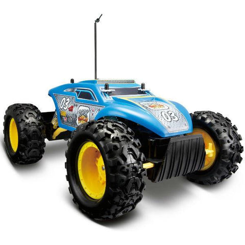 Maisto R/C Rock Crawler Extreme Blue - Hobbytoys - 2