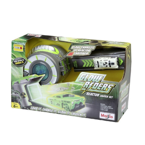 Maisto Glow Riders Reactor Launch Playset - Hobbytoys - 1