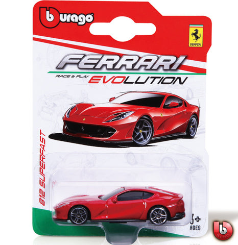 Bburago Ferrari Evolution 812 Superfast