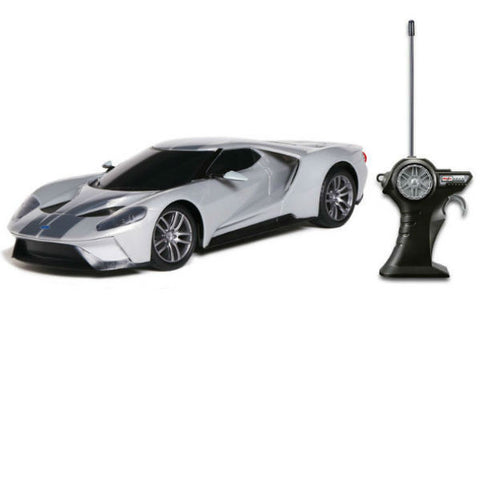 Maisto R/C Ford GT 1/24 Grey - Hobbytoys - 1
