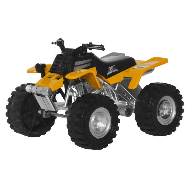 Diecast ATV Quad Bike 250H G5 Yellow - Hobbytoys - 1