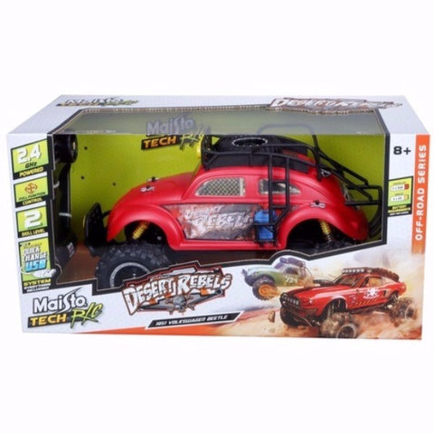 Maisto R/C 1951 Desert Rebels Volkswagen Beetle Red