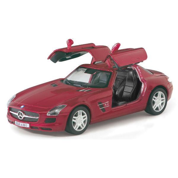Kinsmart Mercedes Benz SLS AMG 1/36 Red - Hobbytoys