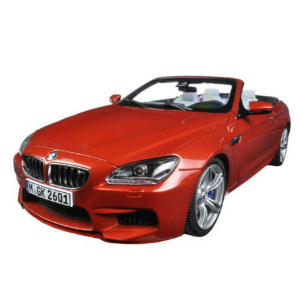 Paragon Models BMW F12 M6 cabrio 1/18 Solar Orange - Hobbytoys - 1