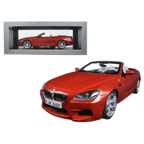 Paragon Models BMW F12 M6 cabrio 1/18 Solar Orange - Hobbytoys - 2