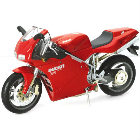 Ducati 998 S New-Ray 1:12 Diecast Motorcycle Model - Hobbytoys