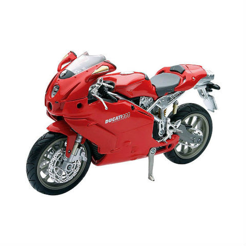 Ducati 999 Testastretta New-Ray 1:12 Diecast Motorcycle Model - Hobbytoys