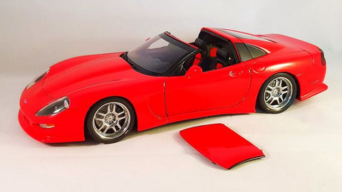 AUTOart Callaway C12 Corvette Coupe 1/18 Red