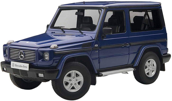AUTOart Mercedes Benz G Model 90's SWB Blue Model 1/18