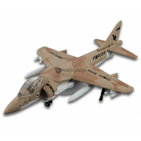 Maisto Tailwinds AV-8B Harrier II Brown Without Stand - Hobbytoys