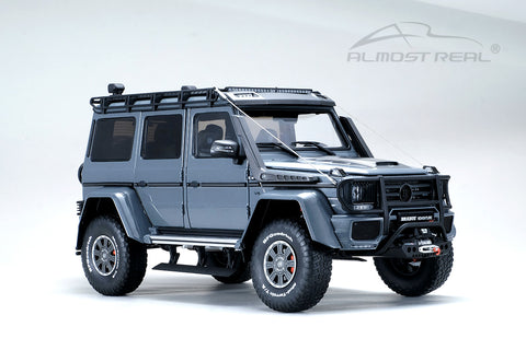 Almost Real Brabus 550 Adventure Mercedes-Benz G 500 4×4² - 2017 - Metallic Grey 1/18