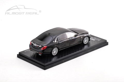 Almost Real Brabus 900 Mercedes-Maybach S-Class - Obsidian Black 1/43