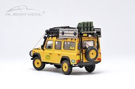 "Almost Real Land Rover DEFENDER 110 ""Camel Trophy"" Support Unit Sabah-Malaysia - 1993 1/43"