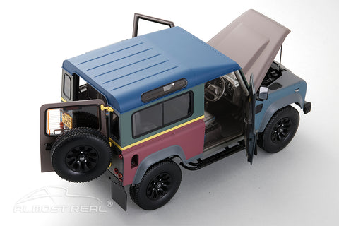 "Almost Real Land Rover Defender 90 ""Paul Smith"" Edition - 2015 1/18"