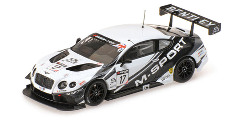 Almost Real M Sport Bentley GT3 British GT 2014   Silverstone  17