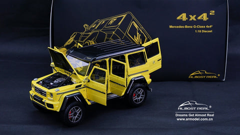 Almost Real Mercedes-Benz G 500 4X4² - 2016 - Electric Beam Yellow 1/18