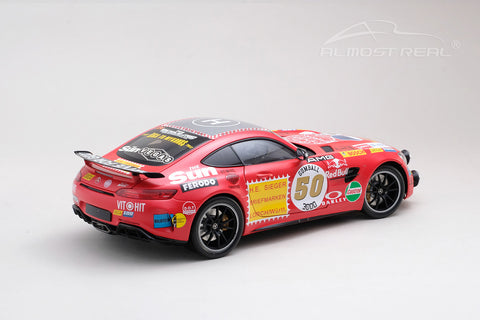 Almost Real Mercedes-AMG GT R - 2017 - Rote Sau - With Driving Lamp 1/18