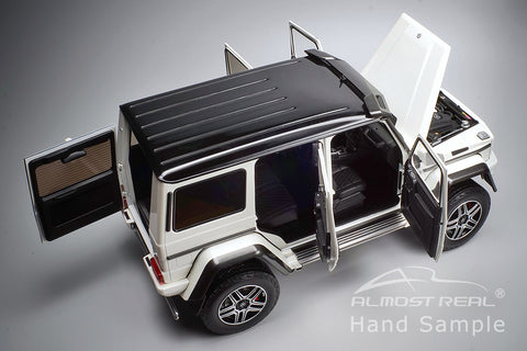 Almost Real Mercedes-Benz G 500 4X4² - 2016 - Polar White 1/18