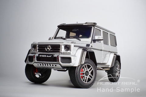 Almost Real Mercedes-Benz G 500 4X4² - 2016 - Iridium Silver 1/18