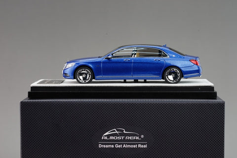 Almost Real Mercedes Benz Maybach S class  2016 Brilliant blue 1/43