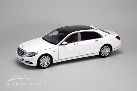 Almost Real Mercedes-Maybach S-class - 2016 - Diamond White 1/18