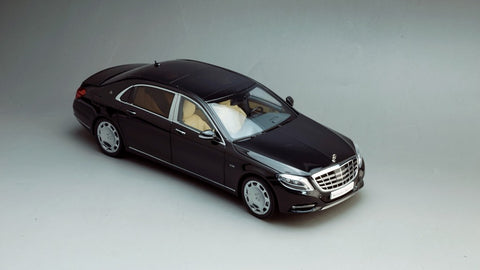 Almost Real Mercedes-Maybach S-class - 2016 - Obsidian Black 1/18