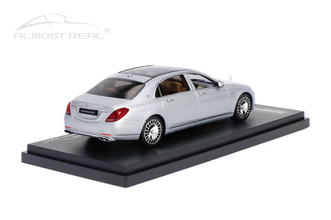 Almost Real Mercedes-Maybach S-class - 2019 - Iridium Silver 1/43