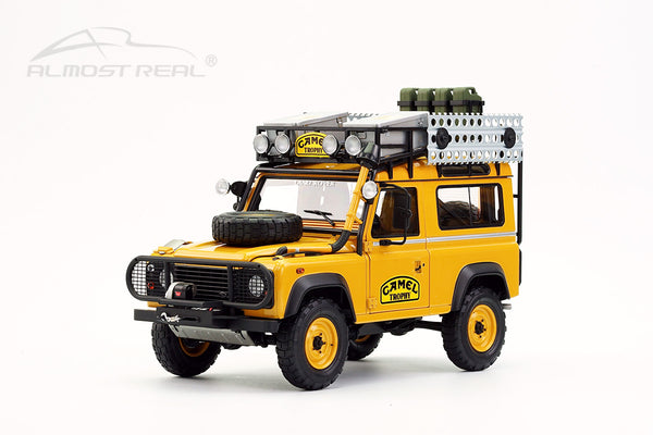"Almost Real Land Rover 90 ""Camel Trophy"" Borneo - 1985 1/18"
