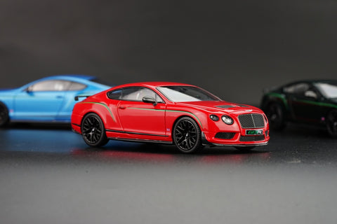 Almost Real Bentley Continental GT3 R - 2015 - Sj James Red 1/43