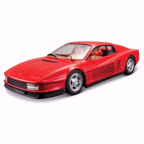 Bburago Ferrari Testarossa 1/24 Diecast Model Car Red - 18-26014
