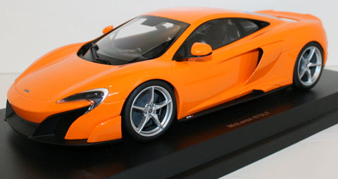 Kyosho McLaren 675LT diecast car 1/18- Orange
