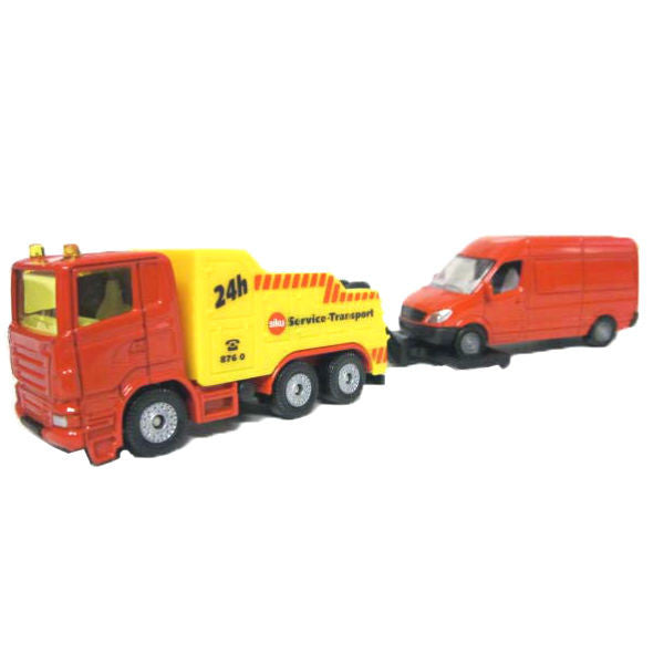 Siku Breakdown Truck With Trailer - Hobbytoys - 1