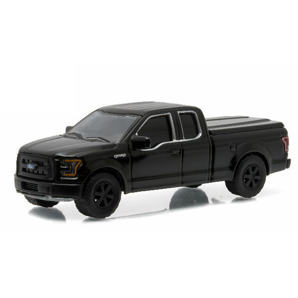 Greenlight 2015 Black Bandit Series 14 Ford F-150 LT 1/64 - Hobbytoys - 1