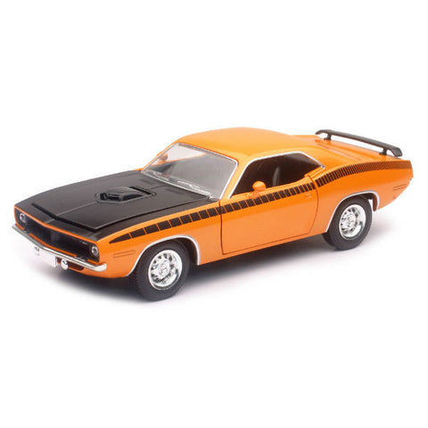New-Ray 1970 Plymouth Cuda 1/25 Orange