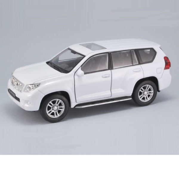 Welly Toyota Land Cruiser Prado Pullback Action Car White - Hobbytoys