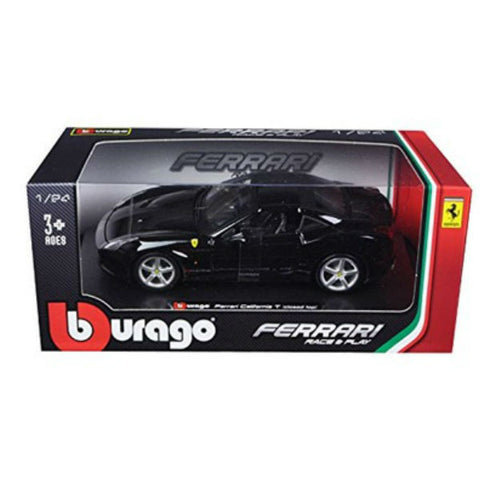 Bburago Ferrari California T Closed Top 1/24 Black - Hobbytoys - 2