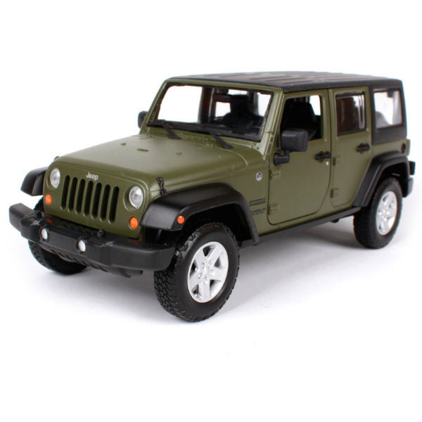 Maisto 2015 Jeep Wrangler Unlimited 1/24 Green