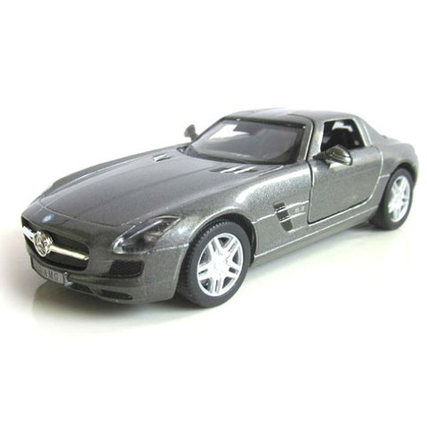 Kinsmart Mercedes Benz SLS AMG 1/36 Grey - Hobbytoys - 1