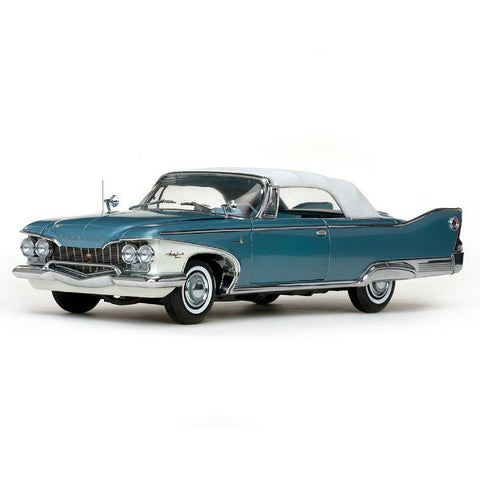Sun Star 1960 Plymouth Fury Closed Convertible 1/18 - Hobbytoys - 1