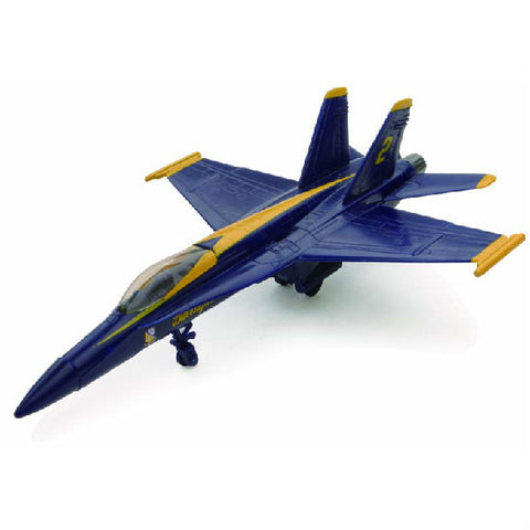 New-Ray F/A-18 Hornet Blue Angels Aeroplane Model Aviation Collectible - Hobbytoys