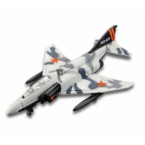 Maisto Tailwinds F-4 Phantom II Grey Without Stand - Hobbytoys