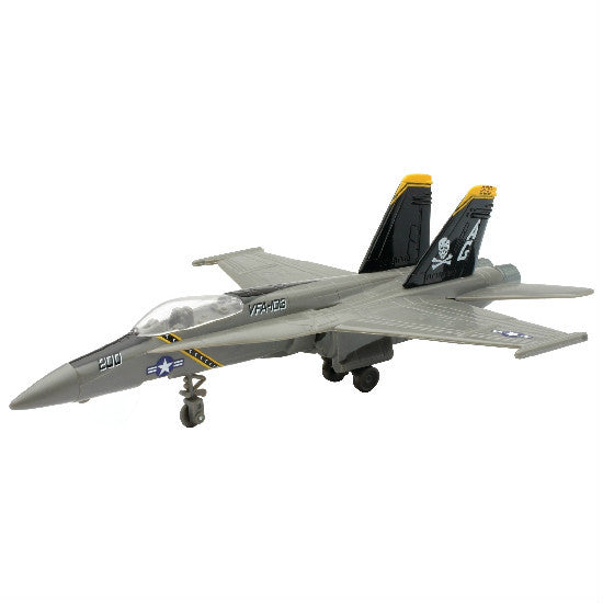 New-Ray McDonnell Douglas F/A-18 Hornet Aeroplane Model Aviation Collectible - Hobbytoys