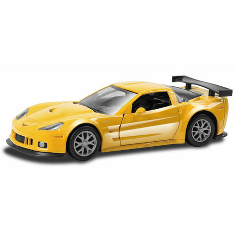 RMZ City Chevrolet Corvette C6-R Yellow - Hobbytoys