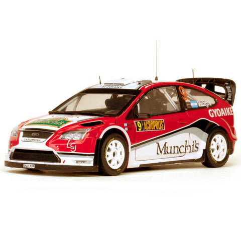 Sun Star Ford Focus Rs Wrc08 F.Villagra / J.Diaz 1/18 - Hobbytoys - 1