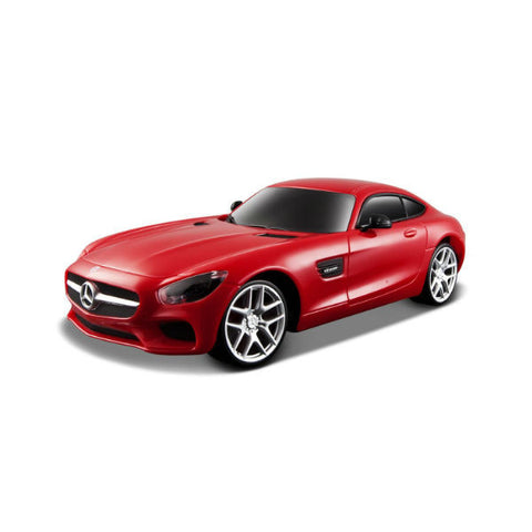 Maisto R/C Mercedes-AMG GT 1/24 Red - Hobbytoys - 2