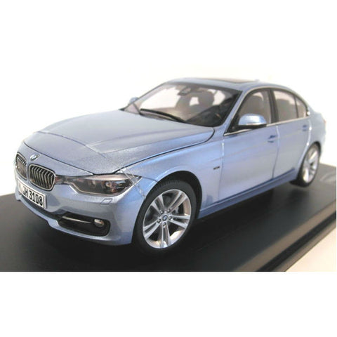 Paragon Models BMW F30 3 series 1/18 Liquid Blue - Hobbytoys - 1