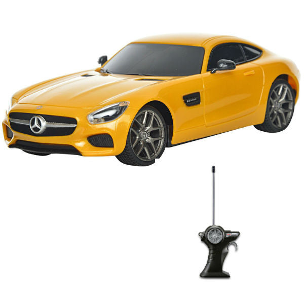 Maisto R/C Mercedes-AMG GT 1/24 Yellow - Hobbytoys - 1