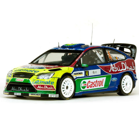 Sun Star Ford Focus Rs Wrc08 F.Duval / P.Pivato 1/18 - Hobbytoys - 1